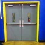 HCZ GYM Door