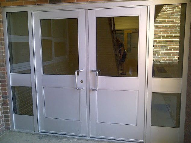 A5 & Parker Commercial Aluminum Glass Entry Doors - Call 212-491-5627