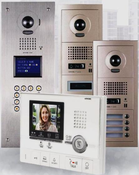 intercom systems archives parker custom security. Black Bedroom Furniture Sets. Home Design Ideas