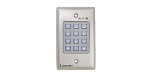 Flush Mount Wired and Wireless Keypads