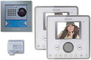 hands-free video door entry system