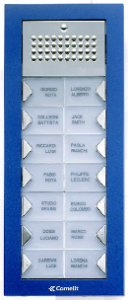 Entry Panel