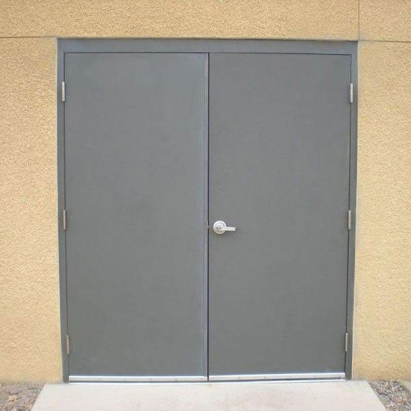 Hollow Metal Double Doors - Parker Custom Security