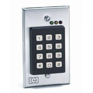 Flush Mount Indoor Keypad