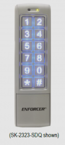 Outdoor Stand-Alone Weatherproof keypads