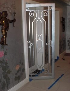 CUSTOM IRON ELEVATOR DOOR GATE