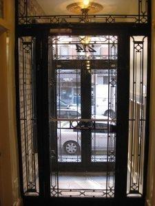 CUSTOM IRON SINGLE GATE DOOR
