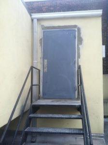 Hollow Metal Building Single Door