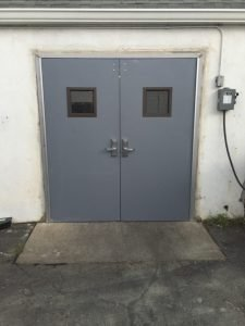 Hollow Metal Double Door
