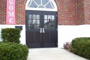 Hollow Metal Building Entry Door