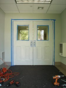 Hollow Metal Building Entry Door