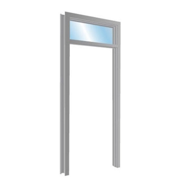 Hollow Metal Transom Frame