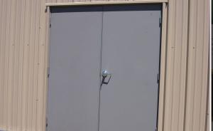 Hollow Metal Double Doors