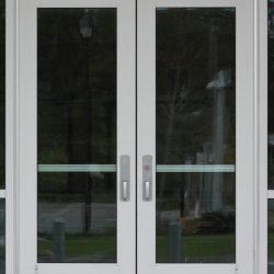 Aluminum Doors Double