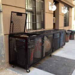 Garbage-Enclosure