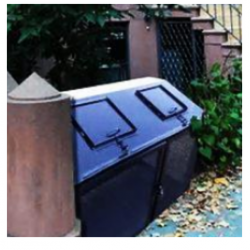 garbage enclosure