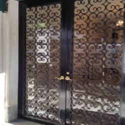 CUSTOM IRON DOUBLE DOOR