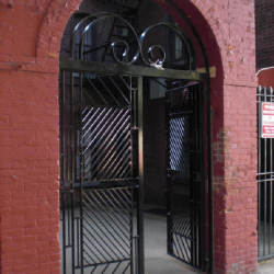 Iron Gate Door