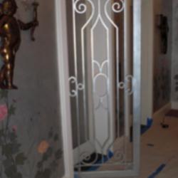 Custom Iron Elevator Door Gate