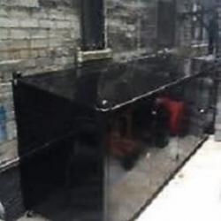 Solid Panel Garbage Enclosure