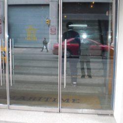 Herculite Metal Doors Double