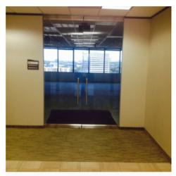 Commercial Herculite Door