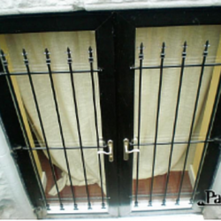 Iron Single Window Gate