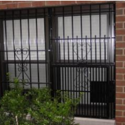 Double Iron Window Gate & NYPG