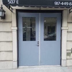 Hollow Metal Building Entry Door HM06
